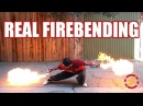 Punch Activated Arm Flamethrowers