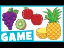 Learn Fruit for Kids | What is it? Game for Kids | Maple Leaf Learning