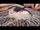 HandMade 1 Панно гвозди нитки Стринг арт string art