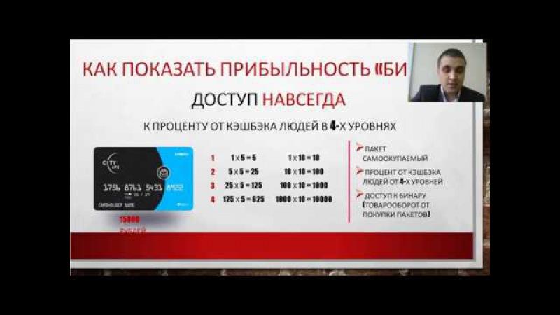 Компания CityLife. Александр Вострецов. 01.04.2017. Стартовая школа для партнеров.