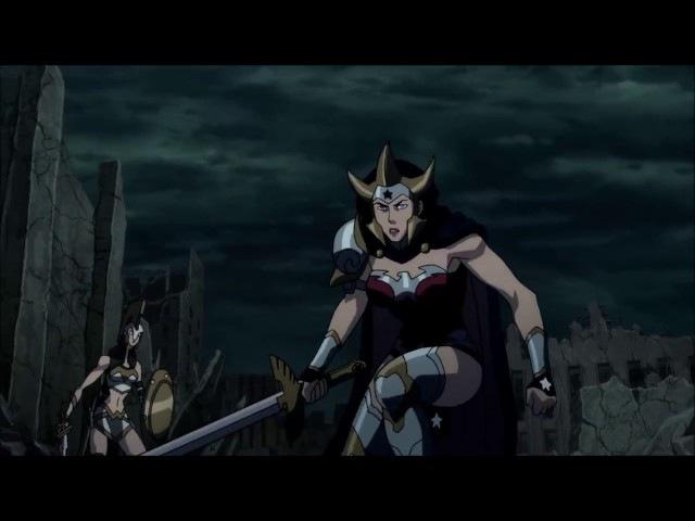 Mulher Maravilha vs Aquaman(Flashpoint)