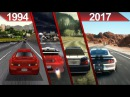 History of Need For Speed Graphics (1994 - 2017) | PC | ULTRA | - UPDATED - 2017 -