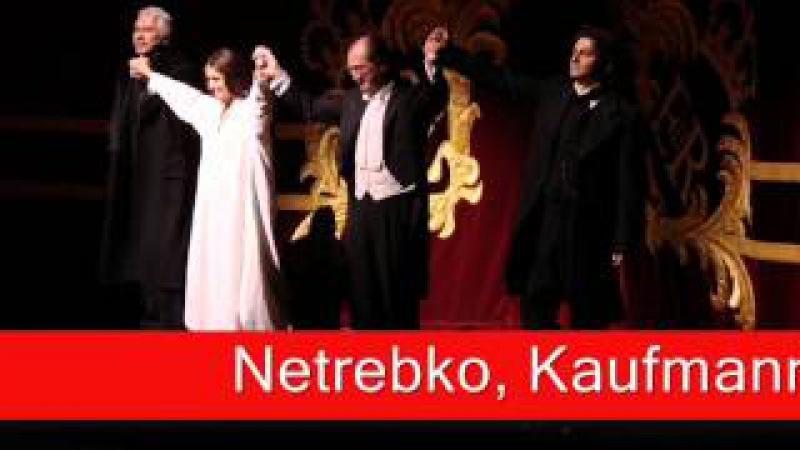Netrebko, Kaufmann & Hvorostovsky: Verdi - La Traviata, 'Prendi, quest'è l'immagine'