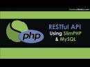 RESTful API With PHP MySQL