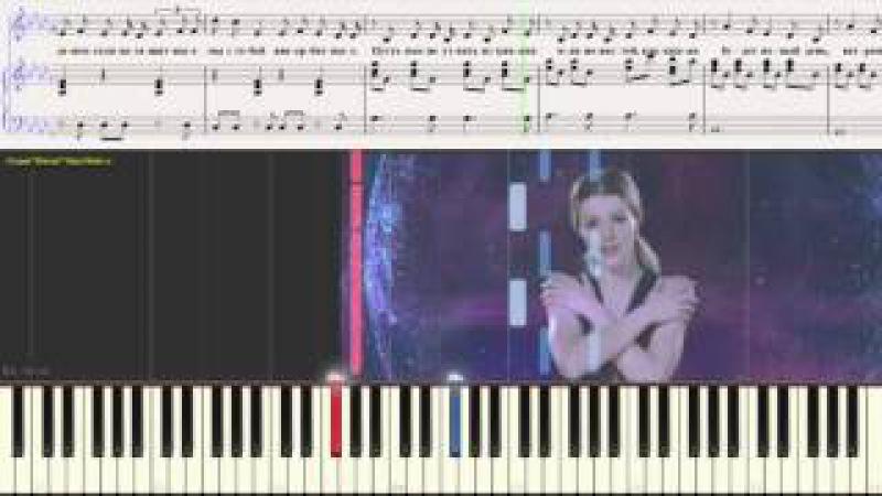 Внеорбитные - Юлианна Караулова (Ноты для фортепиано) (piano cover)