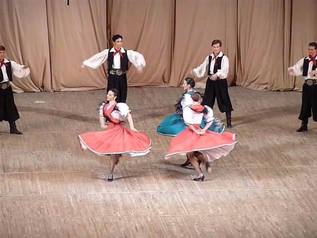 Аргентинский танец Маламбо. Folk dance (Argentine).Malambo