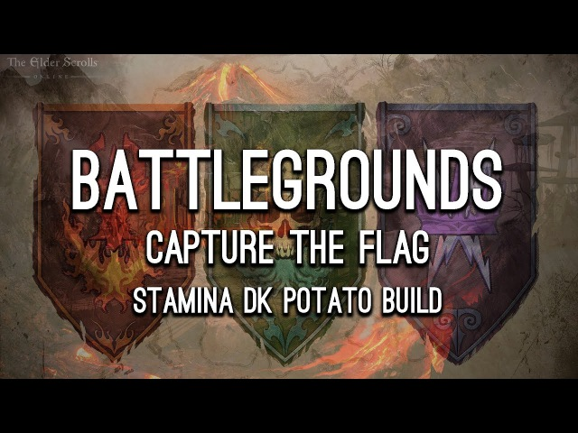 Battlegrounds Capture the Flag, Stamina DK - Morrowind ESO