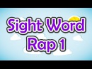 Sight Word Rap 1 Sight Words High Frequency Words Jump Out Words Jack Hartmann