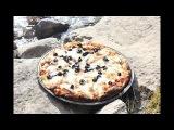 Готовим три пиццы на сплаве в походной бане. Часть 1 из 2 - подготовка теста и соуса.