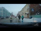 ДТП на розочке, Томск!