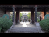 Xian, China- City Walls  Goose Pagodas