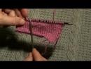 Вязание для начинающих. Как рассчитать и связать скос плеча (начало)
