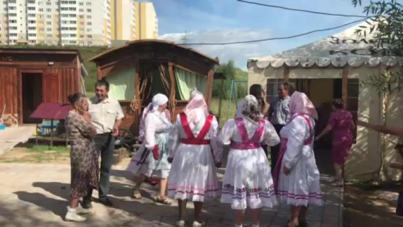 праздник жителей д.Аркасы