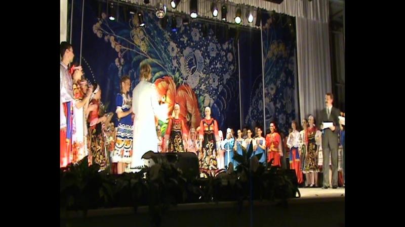 Награждение 45 лет Шахтёрский огонёк.до юбилея 55 остался год а было это на сцене ДК Шахтёров г Кемерово