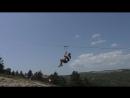 Полет на тарзанке 900 метров