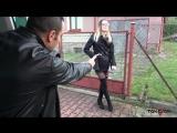 TakeVan Samanta - Black Stockings Barmaid Car-Sex,Blonde,Natural tits,Hardcor