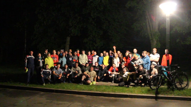 Ночное ориентирование в Брестской крепости