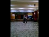 Бал. танцы, фокстрот,я и Ирина Ген