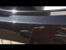 Покраска бампера прозрачным лаком