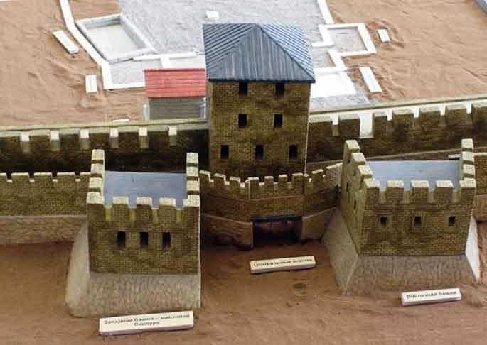 Крепость скифского Неаполя