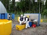 Утилизация баллонов с неизвестным веществом в Пасынково
