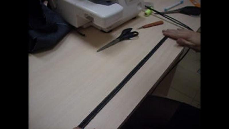 Обработка шлевки 2