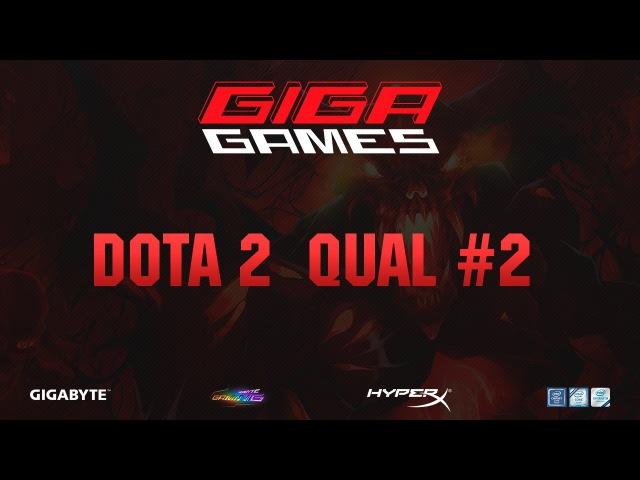 GIGA GAMES 2017 Dota 2 Qual 2 | CEL vs КБУ JUMPERRR DooGer