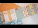 Миник раскладушка. Как сделать мини альбом для фотографий - Скрапбукинг мастер-класс / Aida Handmade