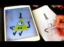 Free drawing Gravity Falls Bill Cipher Рисуем Bill Cipher Гравити фолс