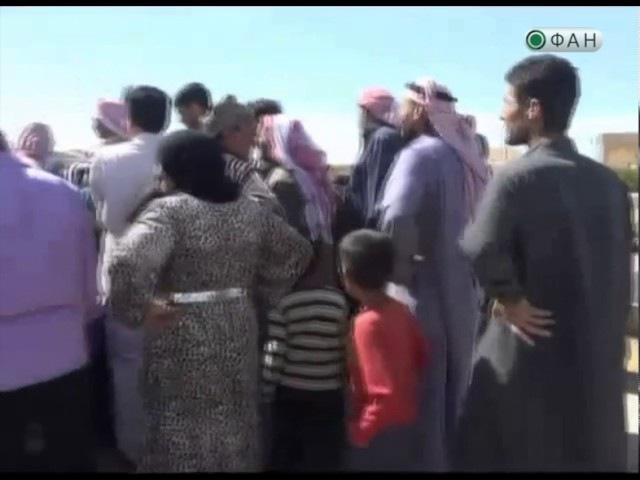 Сирийская армия доставила гуманитарную помощь на восток провинции Алеппо