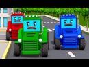 Tractor for Kids Traktor i Przygody Pracowity Traktorek w Mieście Ciężarówek Kreskówki
