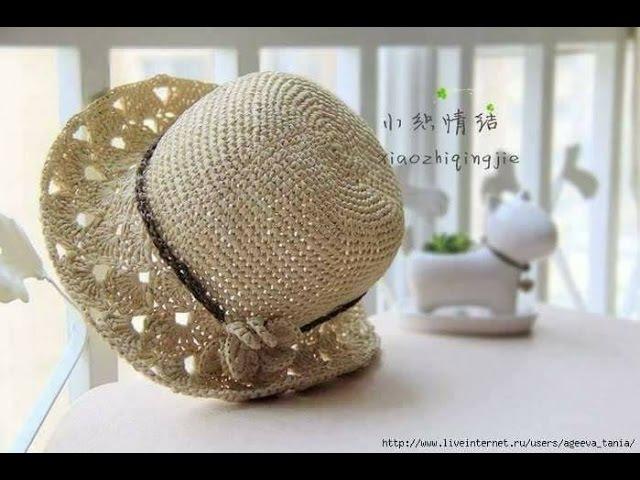 Crochet Hat Hướng dẫn móc mũ 3