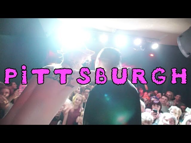 THE PEEP SHOW TOUR DAY 2: PITTSBURGH