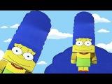 Мардж Симпсон, Симпсоны - поделки своими руками, простые идеи для детей. Распечат...