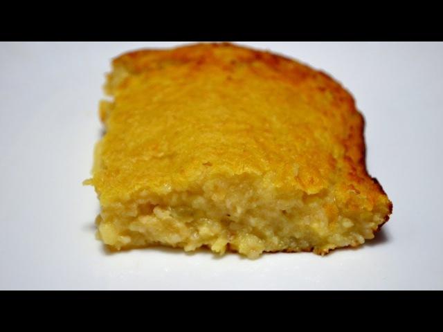 Овсяная запеканка с яблоками Oatmeal casserole
