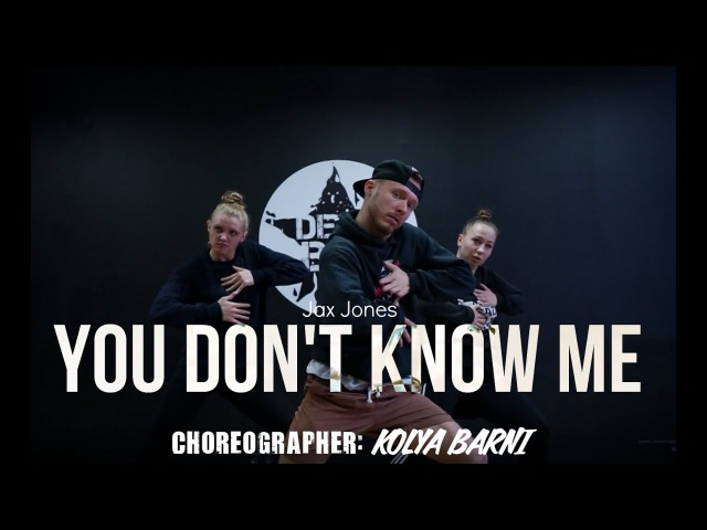 Jax Jones – You Don't Know Me | Dance Routine | choreographer: Kolya Barni
