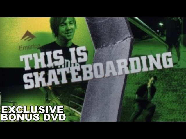 Emerica's This Is Skateboarding | Exclusive Bonus DVD (HD 720p)