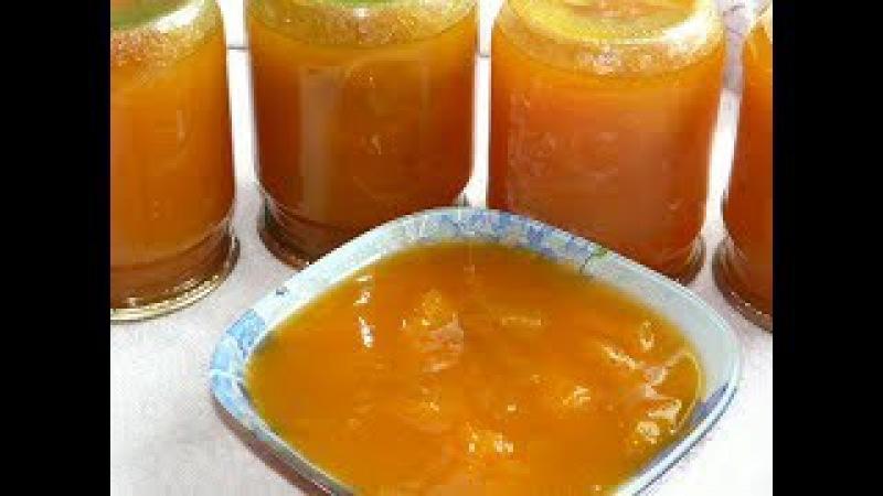 Абрикосовое варенье Пятиминутка - лучше всех конфет/Варенье абрикосовое
