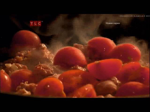 Тальятелле под соусом болоньезе из колбасного фарша - рецепт Гордона Рамзи