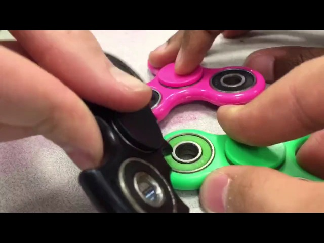 Fidget spinner bisexual interracial threesome