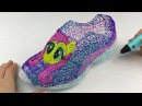 Fluttershy Shoes Drawing with 3D PEN ! My Little Pony Video for Kids