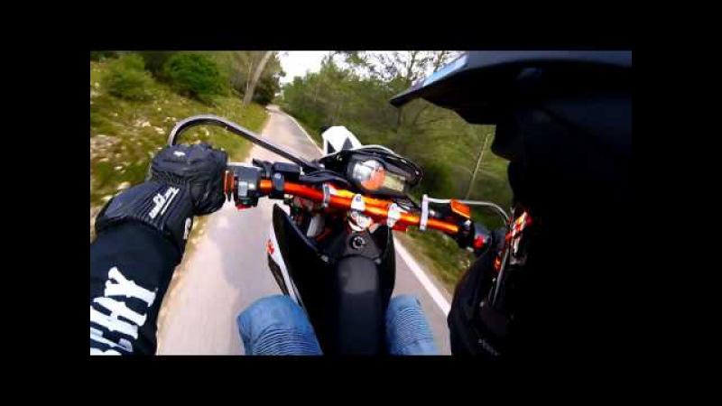 [KTM SMC-R 690 Evo1 FULL Akra] Le Mont Faron
