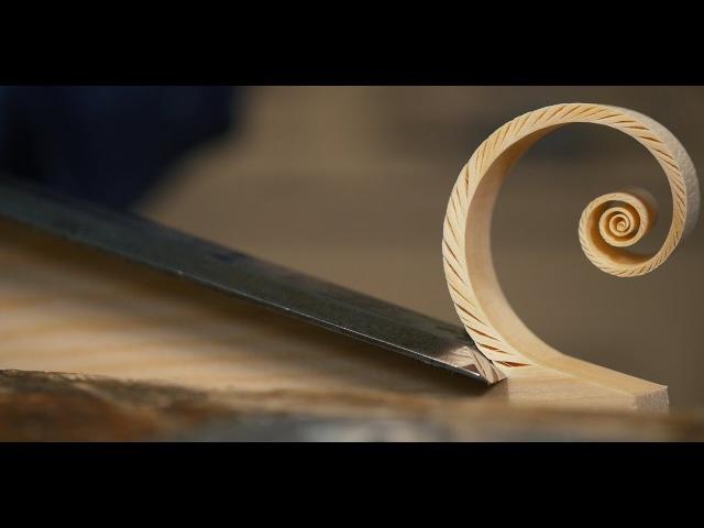 Fibonacci Spiral Shaving | Paul Sellers