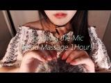 No Talking ASMR Do you wanna feel like a cat 3 Touching the Mic &amp Head Massage 1 Hour!