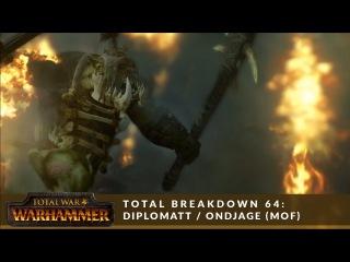 Total Breakdown 64 (MoF) - Greenskins vs Empire (Diplomatt vs Ondjage #2) - Total War Battle Replay