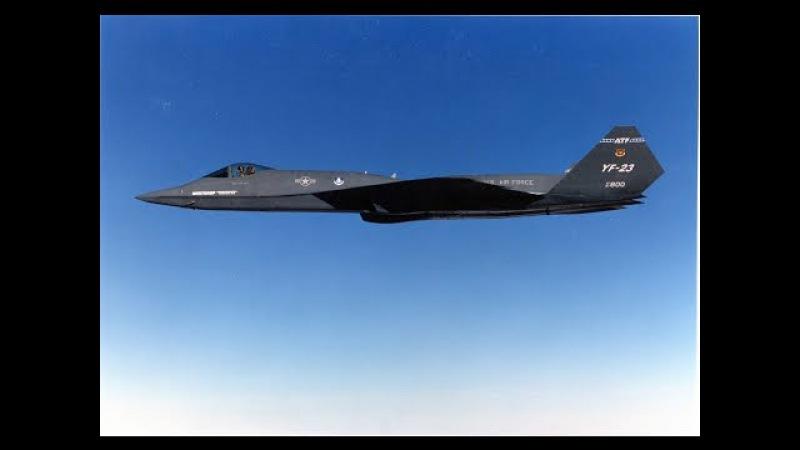 YF 23 «Чёрная вдова II» прототип многоцелевого истребителя пятого поколения «Black Widow II»