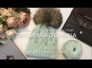 Шапка №2 С объемными косами by Tanya Kurochkina Вязание Мастер Класс Knit Cap