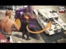 탱크 안에서 점착폭탄을 폭발시키면 한방에 터질까 사모장의 GTA5 꿀잼 컨텐츠 GTA 5 Funny Contents 사모장