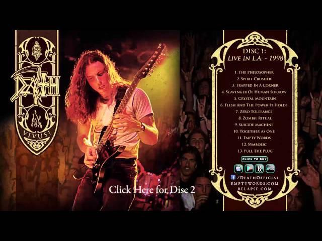 DEATH - 'Vivus!' (Full Album Stream Discs 1 2)
