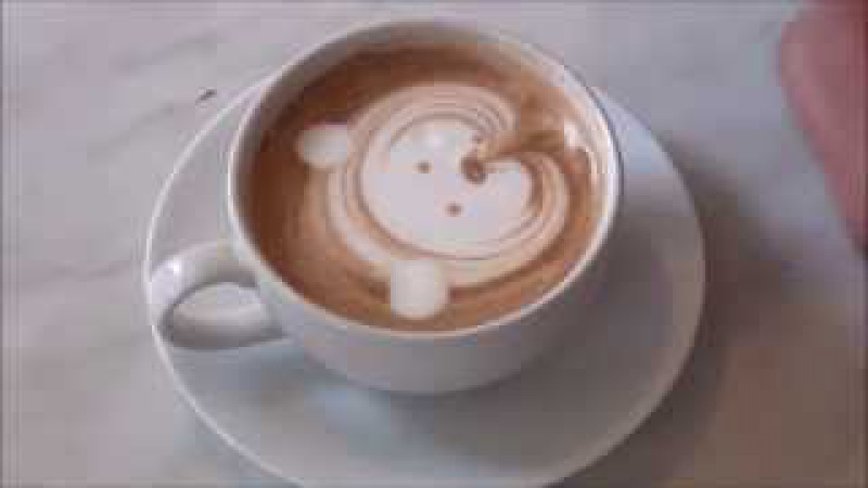 How To Make Cat | Latte Art Easy Tutorial For Beginners